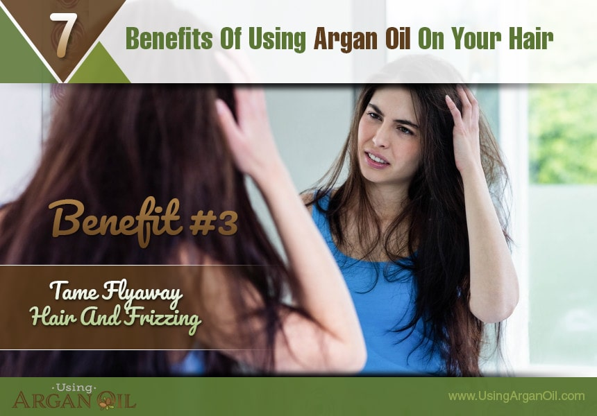 what does argan oil do for your hair