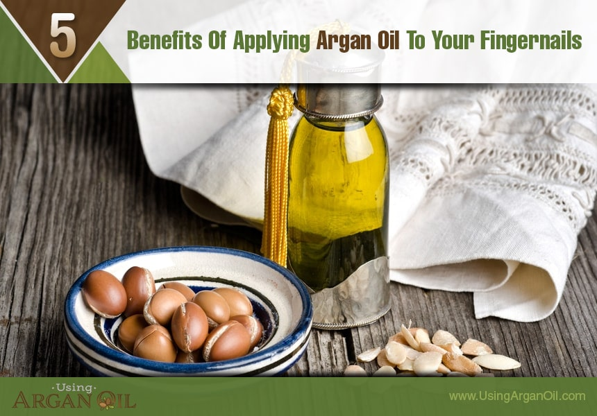 argan oil for skin and nails