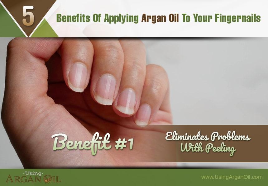 argan oil for fingernails