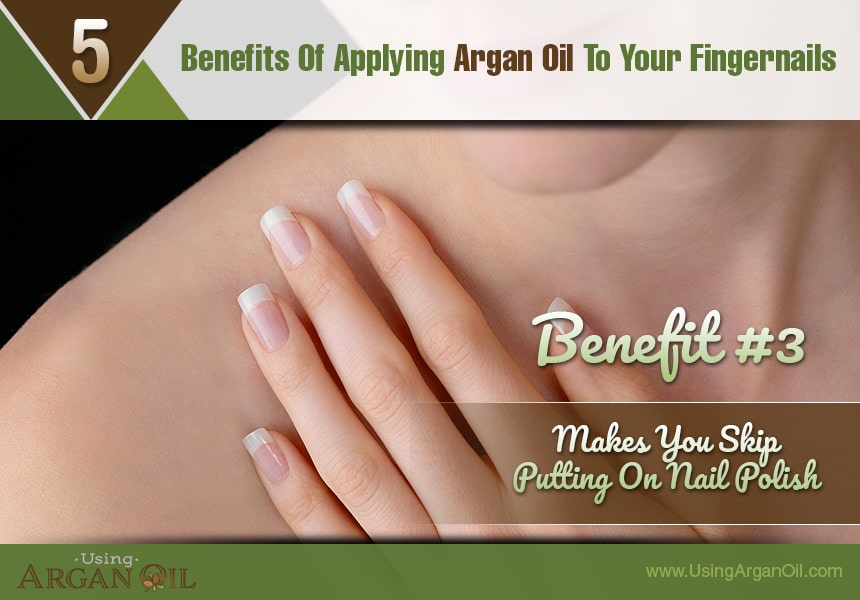 what does argan oil do for your nails?