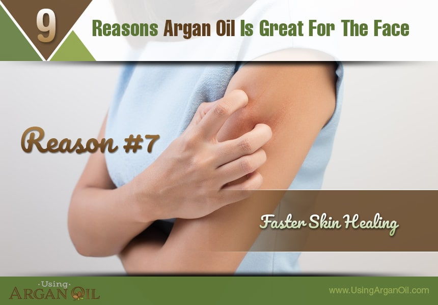 can you use argan oil on your face