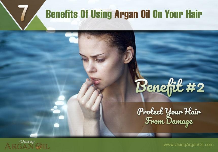 argan oil pre-shampoo